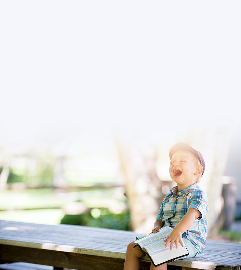 Happy Child In Brampton Park